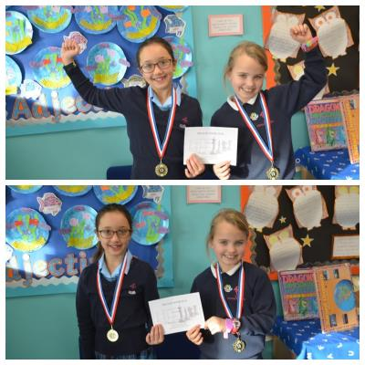 County Chess Success for Lara and Isabella