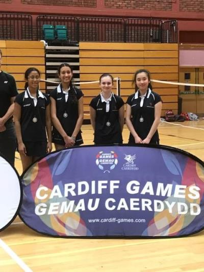 Badminton at the Cardiff Games