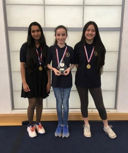 Success at the National Schools Girls' U19 Chess