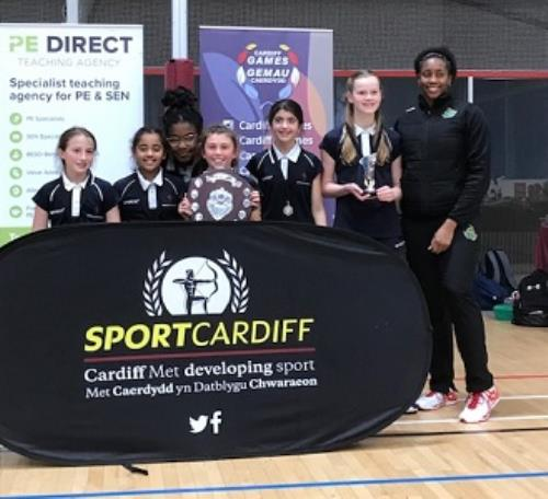 Cardiff and Vale Schools Primary Netball Tournament