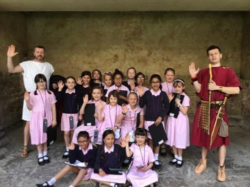 Year 4's Roman Experience