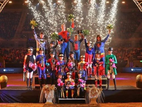 Wonder Women at the Liverpool International Horse Show