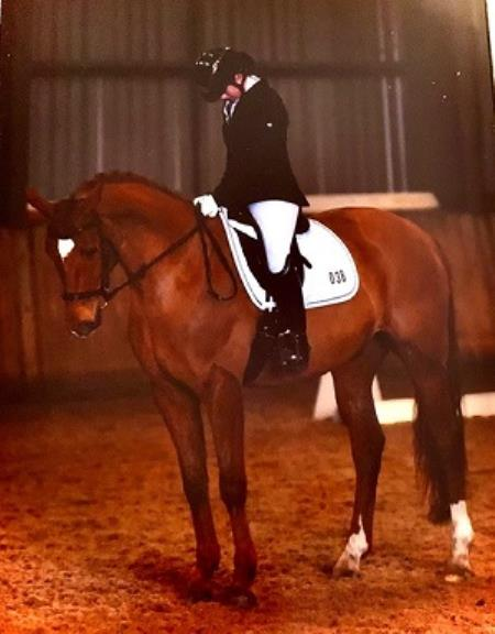 Equestrian Success for Francesca