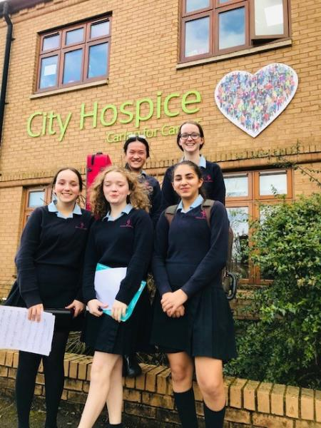 Music students delight patients at City Hospice