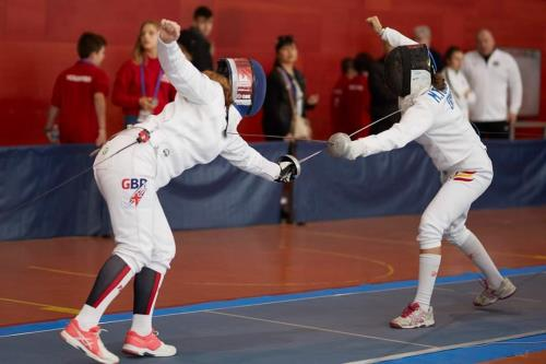 Alumna Louise to represent GB in the U20 European Fencing Championships