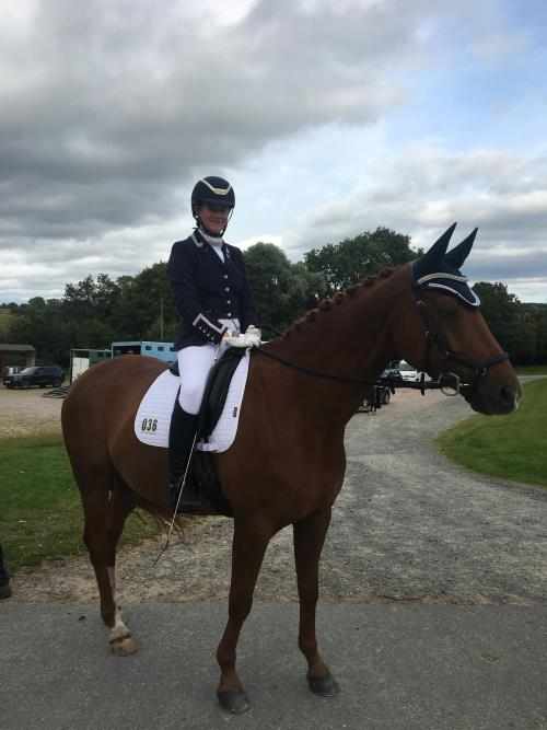 NSEA Dressage Success for Francesca