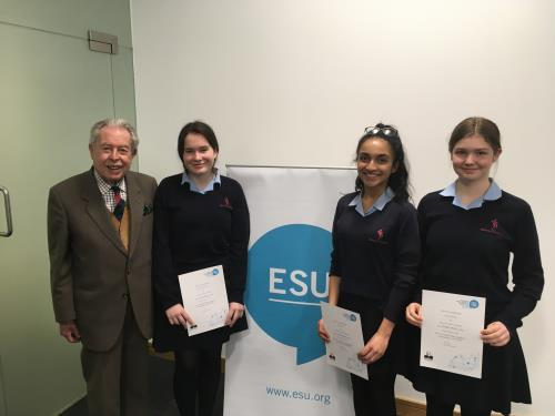 ESU Public Speaking Competition Welsh Final