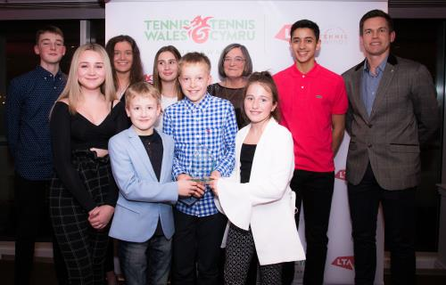 Tennis Wales Awards Win For Elizabeth
