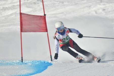 Skiing Success for Lucy