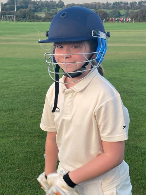 Cricket Success for Mollie