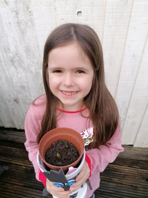 Xanthe's Gardening Success