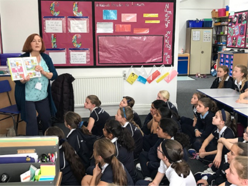 An Author Visit for Year 6