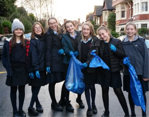 Eco School Litter Pick